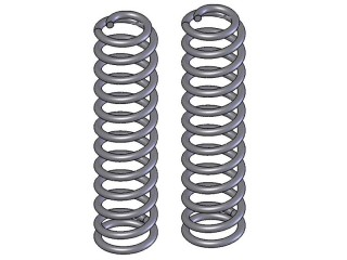 "Jeep Cherokee XJ 4,5"" Lift Front Coil Springs Clayton Off Road"