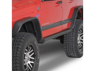 Jeep Cherokee XJ Side Bars Rock Sliders Smittybilt