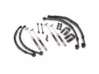 "Jeep CJ (1976-1981) 4"" Suspension Kit Lift With N3 Shocks Rough Country"