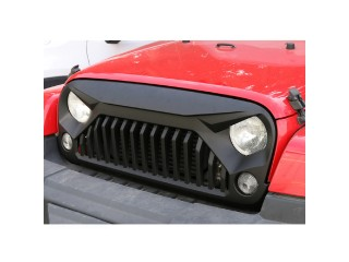 Jeep Wrangler JK (2007-2018) Angry Bird Grill Matte Black OFD