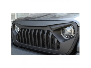 Jeep Wrangler JL Angry Eyes Grill Matte Black OFD