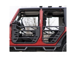 Jeep Wrangler JK 2007-2018 4 Doors Front & Rear Steel Tube Doors Rough Country