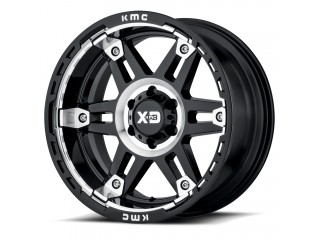 "17"" x8 6x139,7 ET 18 Alloy Wheel XD 840 Spy II Black/Machined"