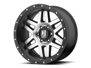 "17"" x8 6x139,7 ET 18 Alloy Wheel XD Series Model 128 Machined Face/ Black Ring"