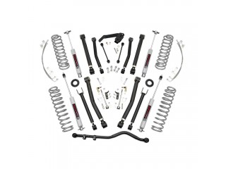 "Jeep Wrangler JK (2D) 4"" Lift Kit Suspension X Series Rough Country"