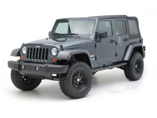 Jeep Wrangler JK 4D Side Bars Sure Steps Smittybilt