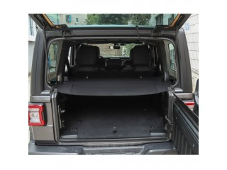 Jeep Wrangler JL Rear Cargo Curtain OFD