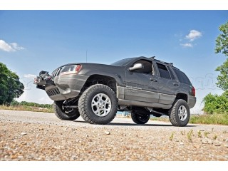 "Jeep Grand Cherokee WJ WG 4"" Lift Kit Pro Suspension Rough ..."