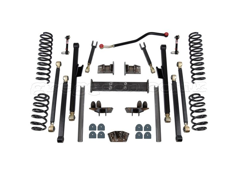 jeep grand cherokee wj wg 4 5 u0026quot  lift kit suspension long