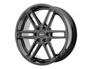 """20"""" x9 6x114,3 ET30 Alloy Wheel HELO Model 908 Gloss Black"""