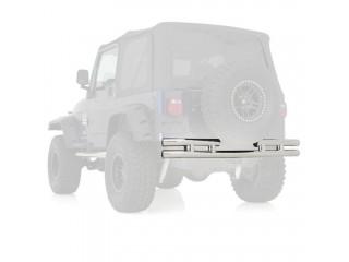 Jeep Wrangler TJ Stainless Steel Rear Tubular Bumper Smittybilt