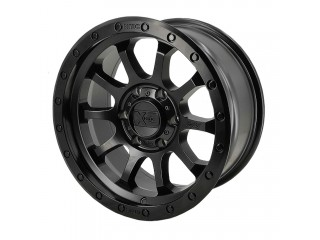 "17"" x 9  5x127 ET18 Alloy Wheel XD143 Satin Black"