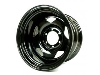 "16"" x10 6x139,7 ET-44 Steel Wheel 618S Glossy Black"