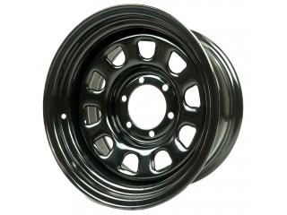 "16"" x10 6x139,7 ET-44 Steel Wheel 618S Glossy Black"