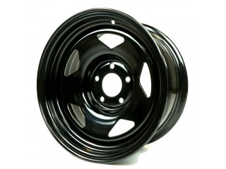 "15"" x7  5x114,3 ET-12 Steel Wheel 618S Glossy Black"