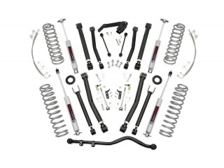 "Jeep Wrangler JK LHD 4 Door (2007-2018) Lift 4"" Suspension Kit X Series Rough Country"