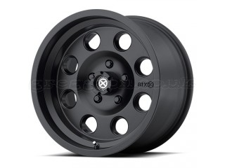 "17"" x 8 ET0 5x127 Alloy Wheel Black Model 199 ATX"