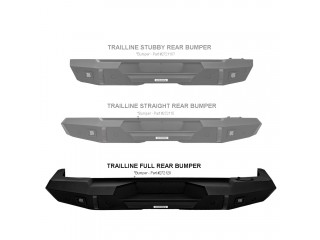 Jeep Wrangler JL Rear Full Bumper Trailline Go Rhino