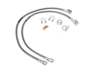"Jeep Wrangler YJ 2""- 6,5"" Lift Extended Front Brake Lines Rough Country"