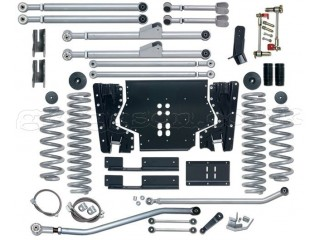 Jeep Wrangler TJ LHD (1997-2002) 4.5'' Lift Kit Extreme Duty Long Arm Rubicon Express