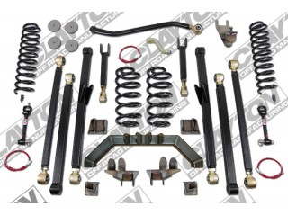 "Jeep Wrangler TJ (LHD) 4"" Lift Kit Suspension Long Arm Clayton Off Road"