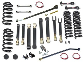 "Jeep Wrangler LJ (LHD) 4"" Lift Kit Suspension Premium Clayton Off Road"