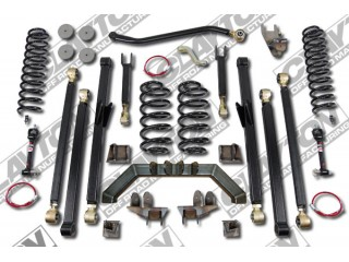 "Jeep Wrangler LJ (LHD) 5,5"" Lift Kit Suspension Premium Long Arm Clayton Off Road"