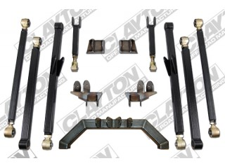"Jeep Wrangler LJ (LHD) 4""- 8'' Lift Kit Upgrade Long Arm Clayton Off Road"
