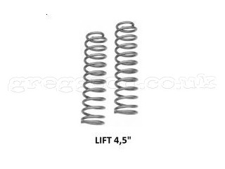 "Jeep Cherokee XJ 4,5"" Lift Front Coil Springs Rough Country"