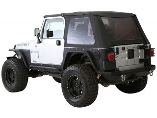 Jeep Wrangler TJ Bowless Combo Top With Tinted Windows Smittybilt