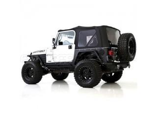 Jeep Wrangler TJ Premium Soft Top Black Smittybilt