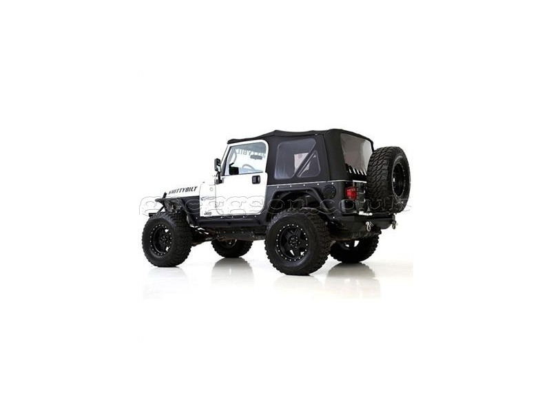 jeep wrangler tj black premium soft top smittybilt. Cars Review. Best American Auto & Cars Review
