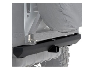 Jeep Wrangler TJ Steel Rear Bumper Classic Rock Crawler Smittybilt