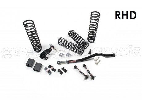 "Jeep Wrangler JK (2D) RHD 3,5"" Lift Kit Suspension JKS"