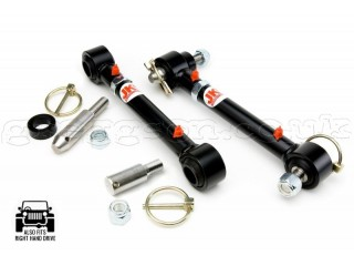 "Jeep Wrangler JK 0"" - 2"" Lift Front Sway Bar Disconnects JKS"