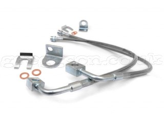 "Jeep Wrangler JK 4"" - 6"" Lift Front Brake Lines Extended Rough Country"
