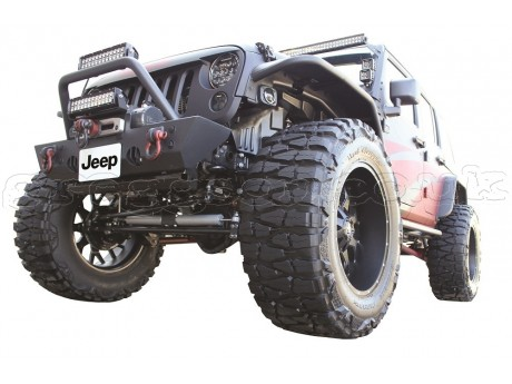 Jeep Wrangler JK Steel Front Winch Bumper Go Industries