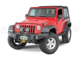 Jeep Wrangler JK Steel Front Bumper Tubless AEV