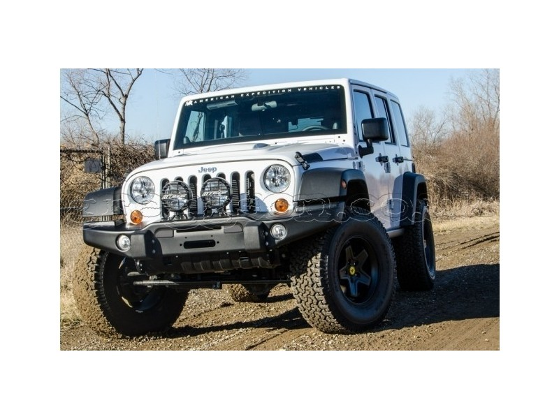 Best Winch For Jeep Wrangler >> Jeep Wrangler JK Steel Front Bumper Tubless AEV