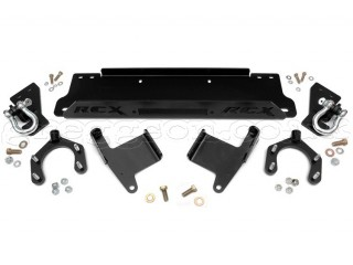 Jeep Wrangler JK Winch Plate With D-Ring Mounts Rough Country