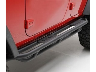 Jeep Wrangler JK 2D Side Steps Side Bars Rock Crawler Side Armor Smittybilt