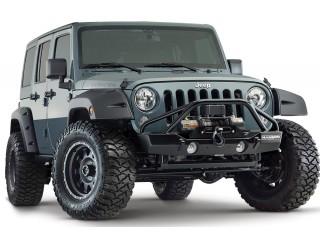 Jeep Wrangler JK Front Fenders Flares Facotory Coverage Bushwacker