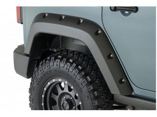 Jeep Wrangler JK 2D Rear Fenders Flares Factory Coverage Bushwacker