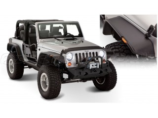Jeep Wrangler JK 2D Fenders Flares Flat Style Bushwacker