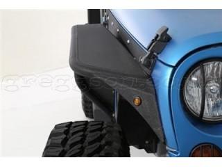 Jeep Wrangler JK Front Fender Flares XRC Flux Smittybilt