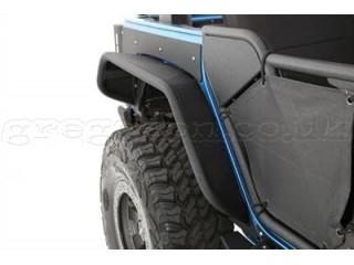 Jeep Wrangler JK Rear Fender Flares XRC Flux Smittybilt
