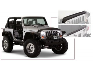 Jeep Wrangler JK Set Hood and Tailgate Protector Bushwacker