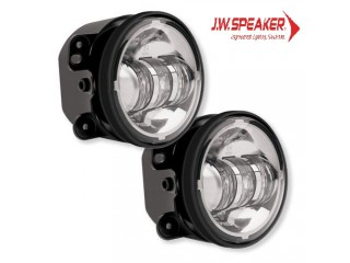 Jeep Wrangler JK Led Fog Lights Chrome 6145 JW Speaker