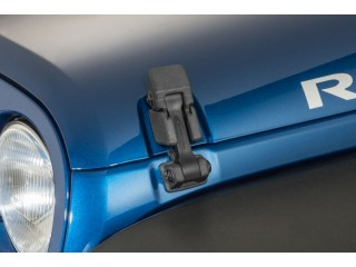 Jeep Wrangler JK Black Hood Latches Daystar