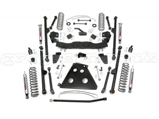 "Jeep Wrangler JK (4D) 4"" Lift Kit Long Arm Suspension Rough Country"
